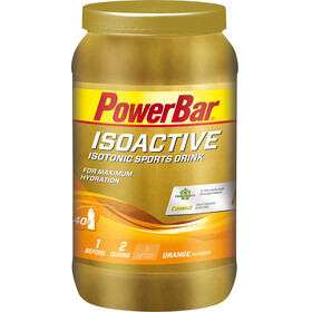 PowerBar Isoactive - Nutrition sport - Orange 1320g beige/orange